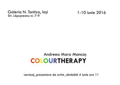 Andreea Mara Mancas colortherapy