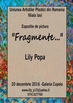 Fragmente - Lily Popa
