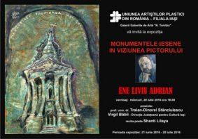 Monumente Iesene in viziunea pictorului Ene Liviu Adrian