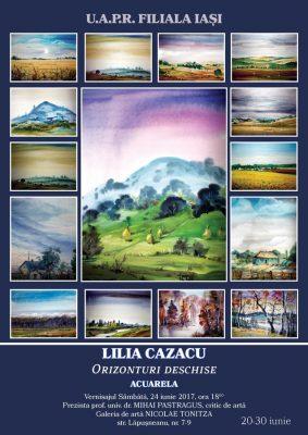 Liliana Cazacu orizonturi deschise Arta Iasi