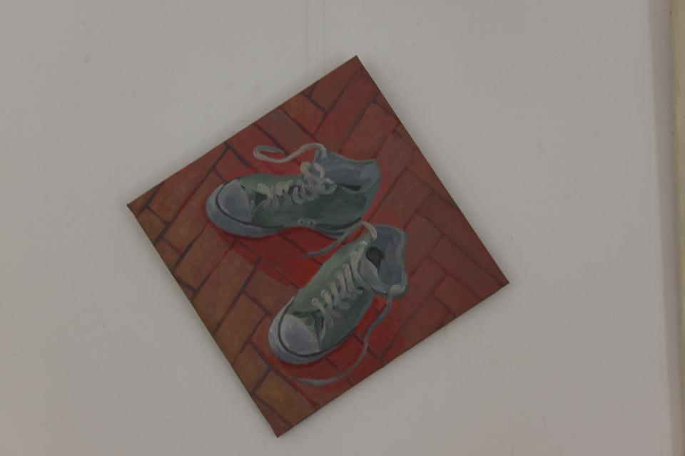 FARA TITLU, 50 cm x 50 cm, ulei pe panza, 2010