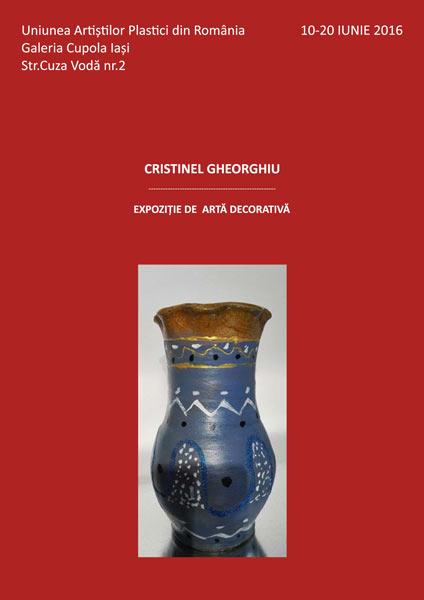Cristinel Gheorghiu - Expozitie de arta decorativa