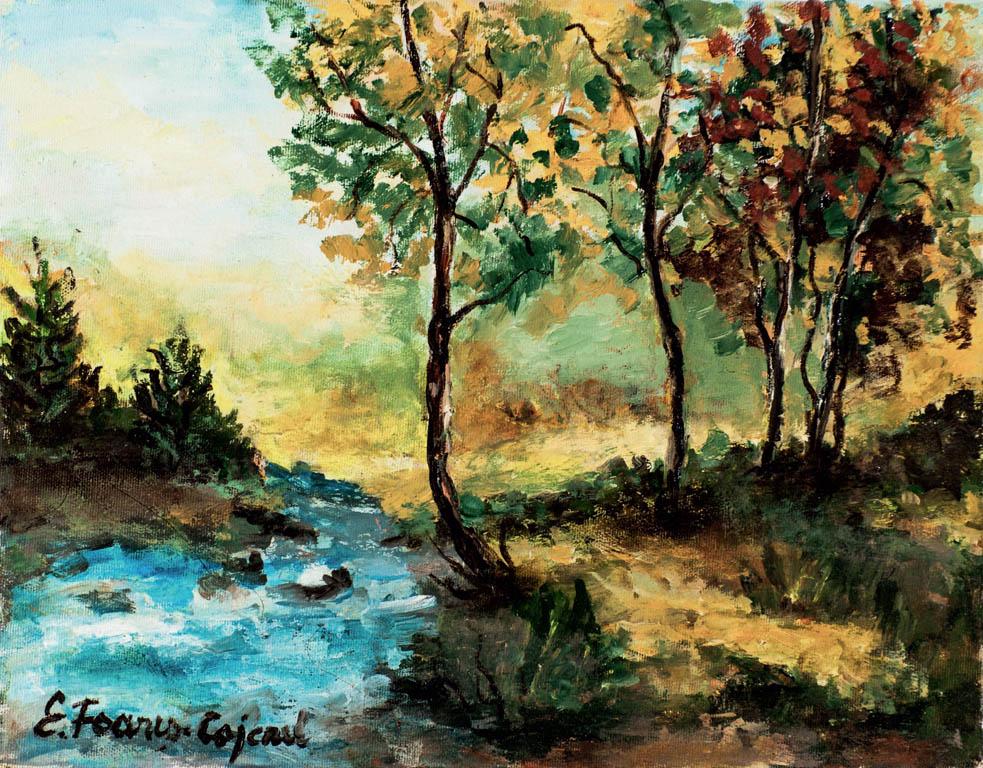 Vară, ulei pe pânză, 33 x 41 cm