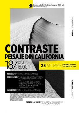 Contraste Peisaje din California Susanna Patras