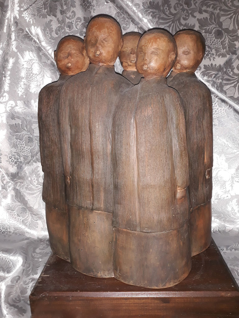 Ciornei Constantin Cor de copii-45x30x25