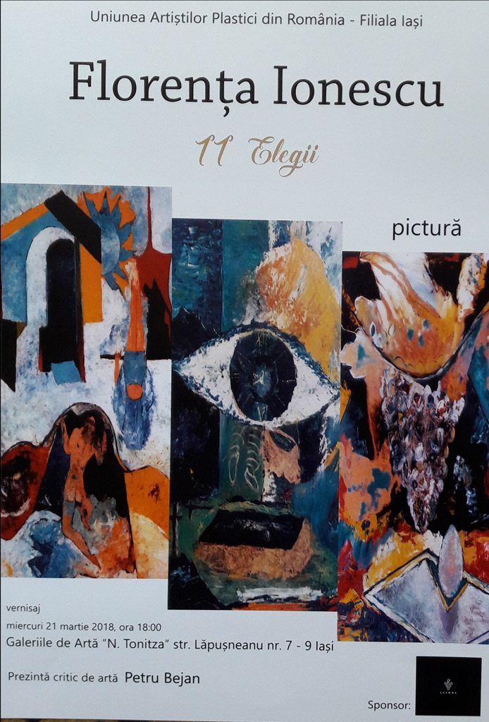 Florenta Ionescu - 11 Elegii