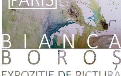 EXPOZIȚIE DE PICTURĂ – ATELIER 2215 – PARIS – BIANCA BOROȘ