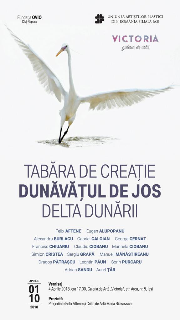 TABĂRA DE CREAȚIE - DUNĂVĂȚUL DE JOS - DELTA DUNĂRII