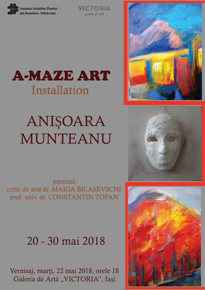 A-MAZE ART– ANIȘOARA MUNTEANU