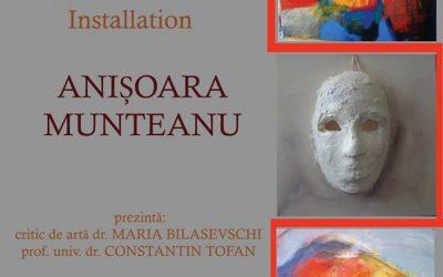"""EXPOZIȚIE DE INSTALAȚIE  ,, A-MAZE ART""""– ANIȘOARA MUNTEANU"""