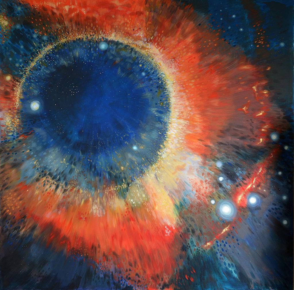 Ochiul lui Dumnezeu 175x175cm 2017_ap
