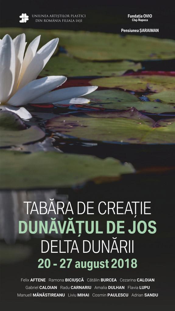 """TABĂRA DE CREAȚIE ,,DUNĂVĂȚUL DE JOS – DELTA DUNĂRII"""""""