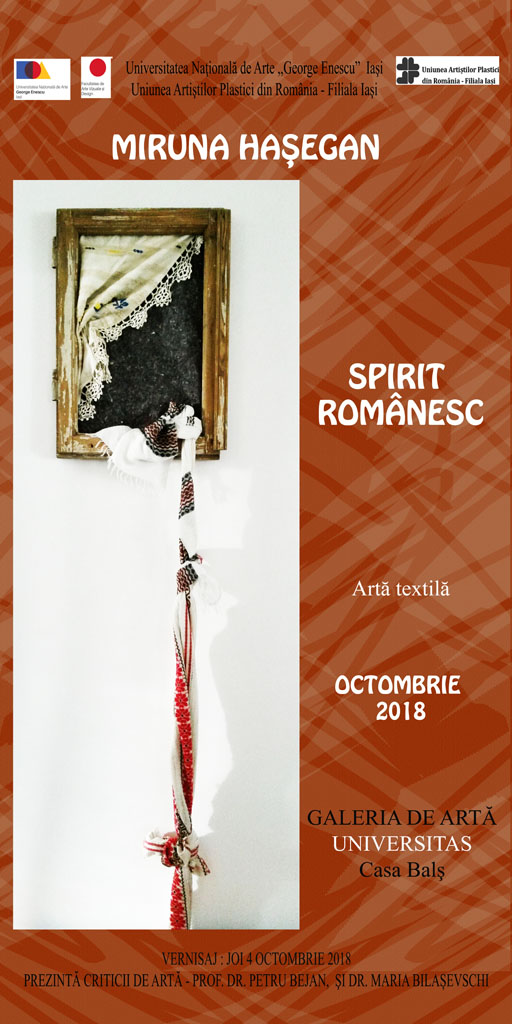 "SPIRIT ROMÂNESC"" – MIRUNA HAȘEGAN"