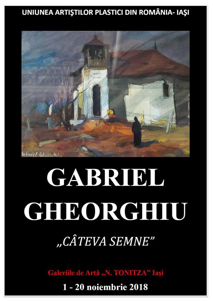 CÂTEVA SEMNE – GABRIEL GHEORGHIU