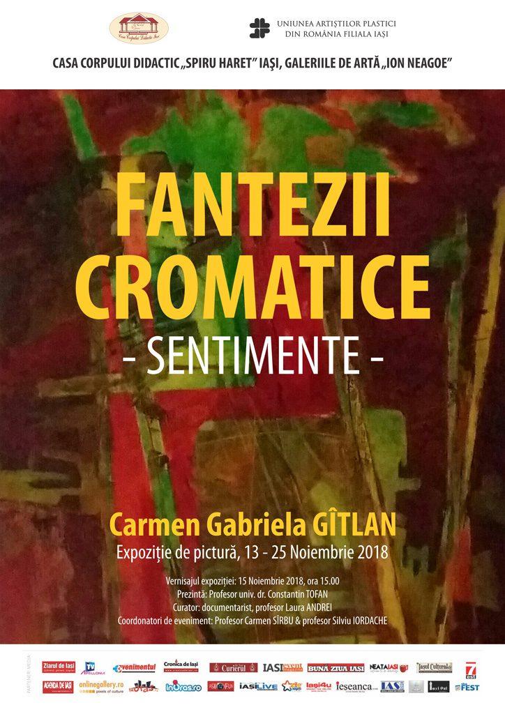 FANTEZII CROMATICE - SENTIMENTE – CARMEN GABRIELA GÎTLAN