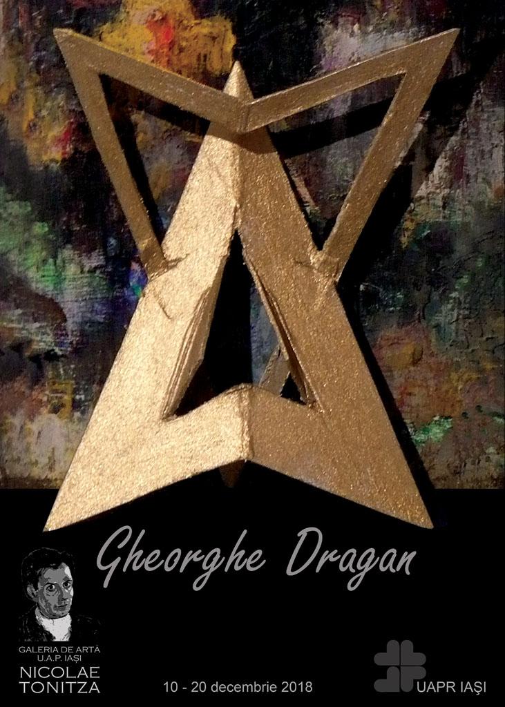 EXPOZIȚIE DE ARTĂ VIZUALĂ – GHEORGHE DRĂGAN