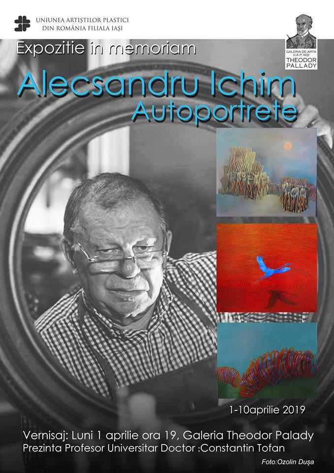 ",,AUTOPORTRETE"" – IN MEMORIAM ALECSANDRU ICHIM"