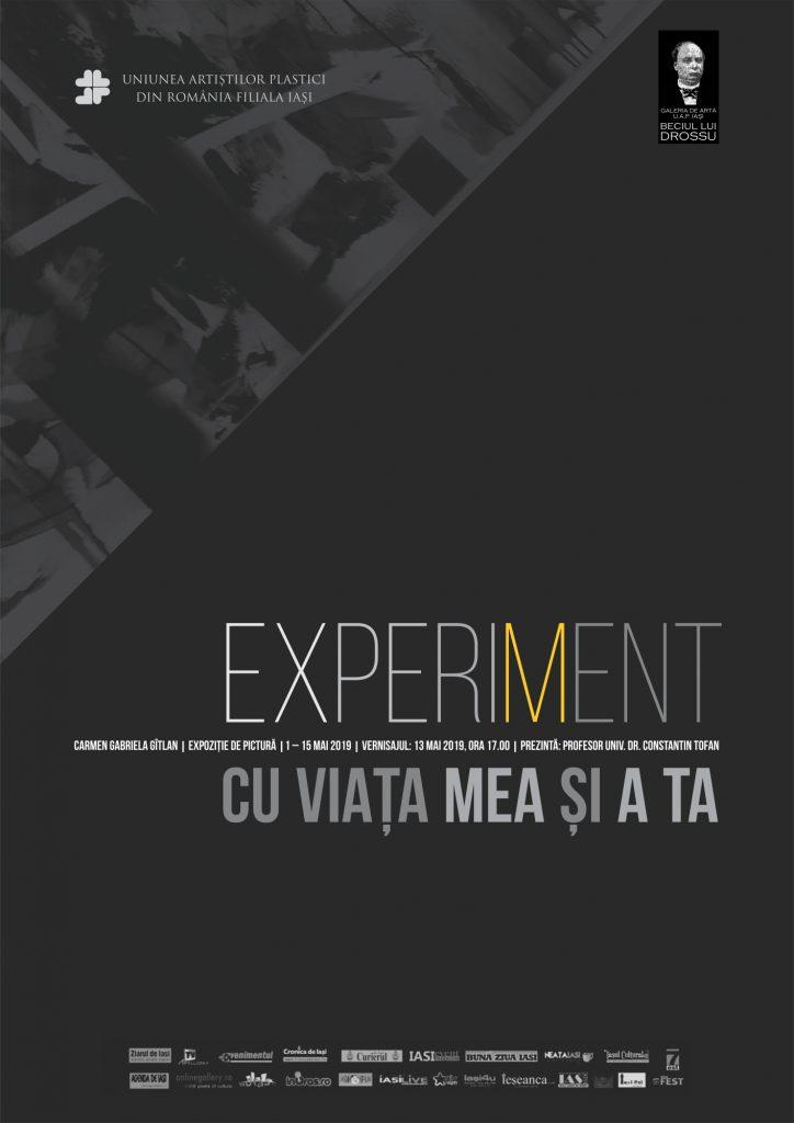 ",,EXPERIMENT CU VIAȚA MEA ȘI A TA"" – CARMEN GABRIELA GÎTLAN"