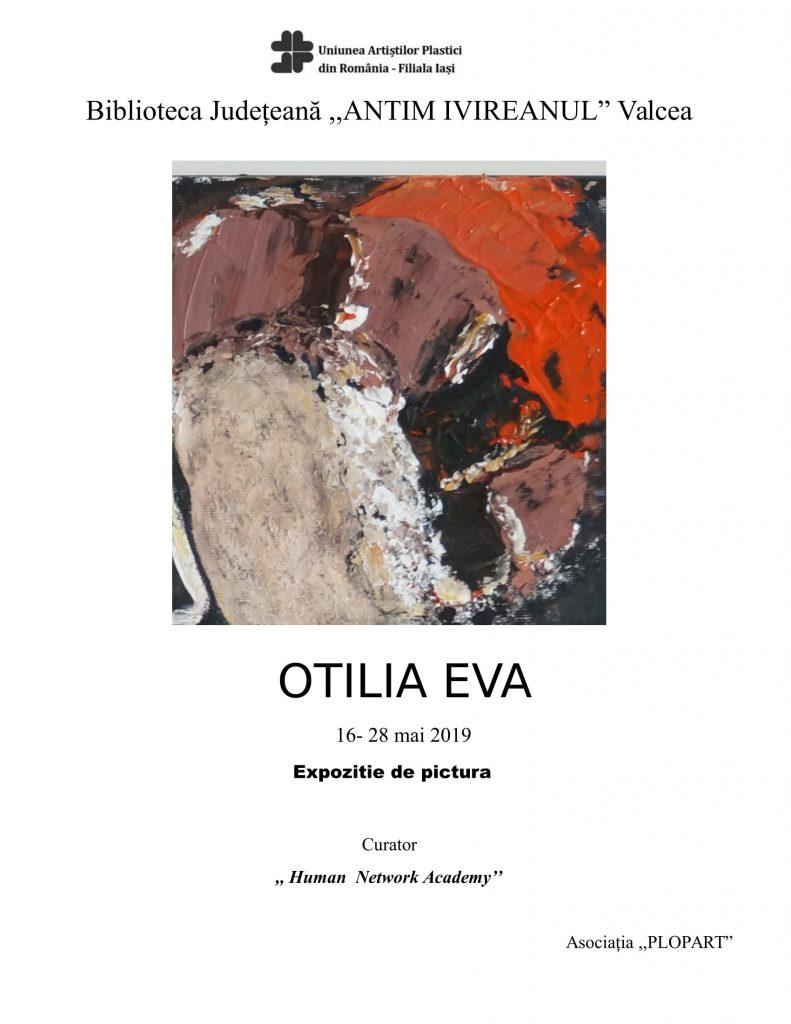 EXPOZIȚIE DE PICTURĂ – OTILIA EVA