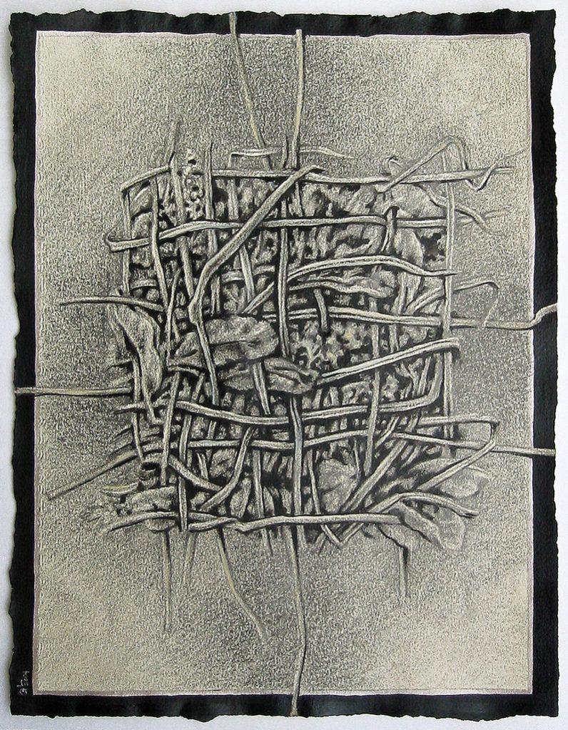 Studiu vegetal 1994, 20x22,5cm
