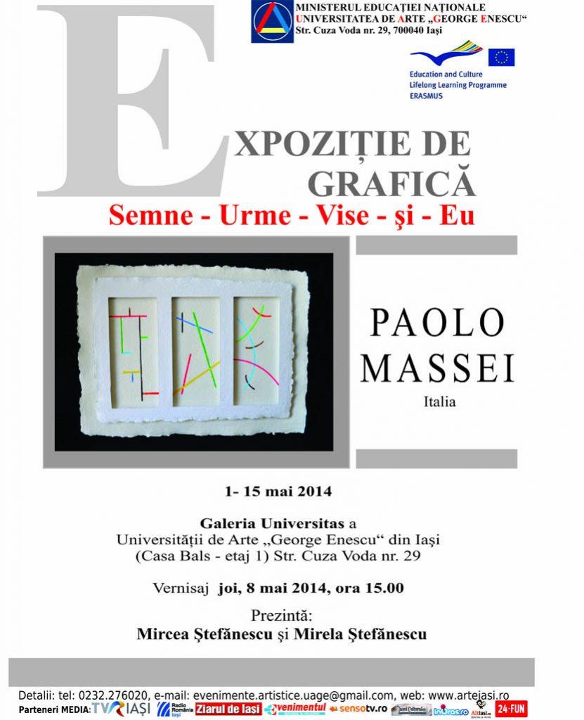 Afis epozitie- Paolo Massei
