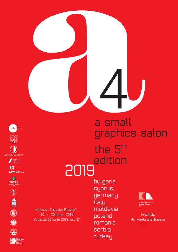Salonul de grafica mica - A4