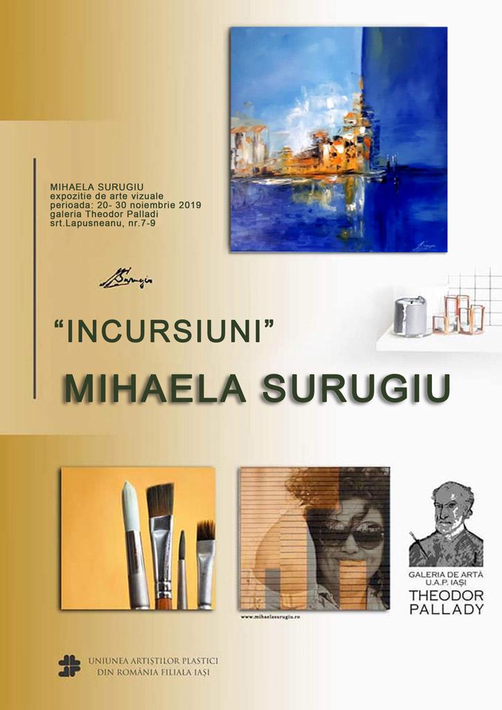 """""""INCURSIUNI"""" - MIHAELA SURUGIU"""