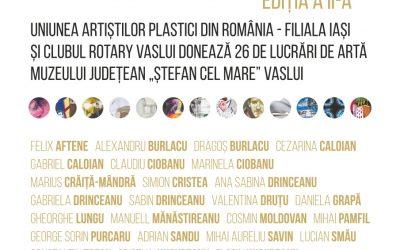 """EXPOZIȚIE– """"DONAȚII / DONATORI"""" EDIȚIA A II-A"""