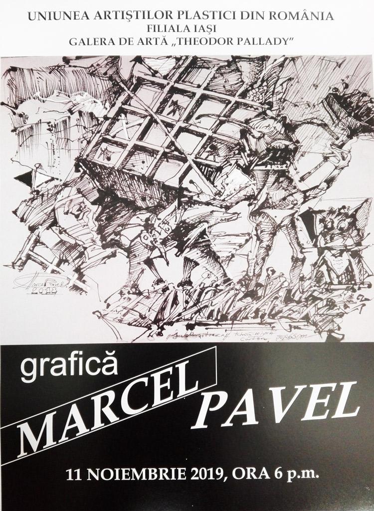 EXPOZIȚIE DE GRAFICĂ - MARCEL-PAVEL