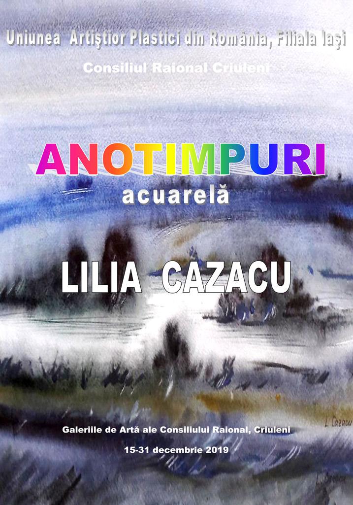 ANOTIMPURI - LILIA CAZACU