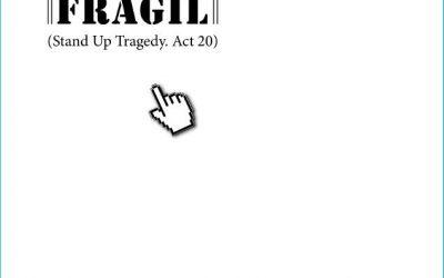 """EXPOZIȚIE DE GRAFICĂ – """"FRAGIL"""" – MIHAIL VOICU"""