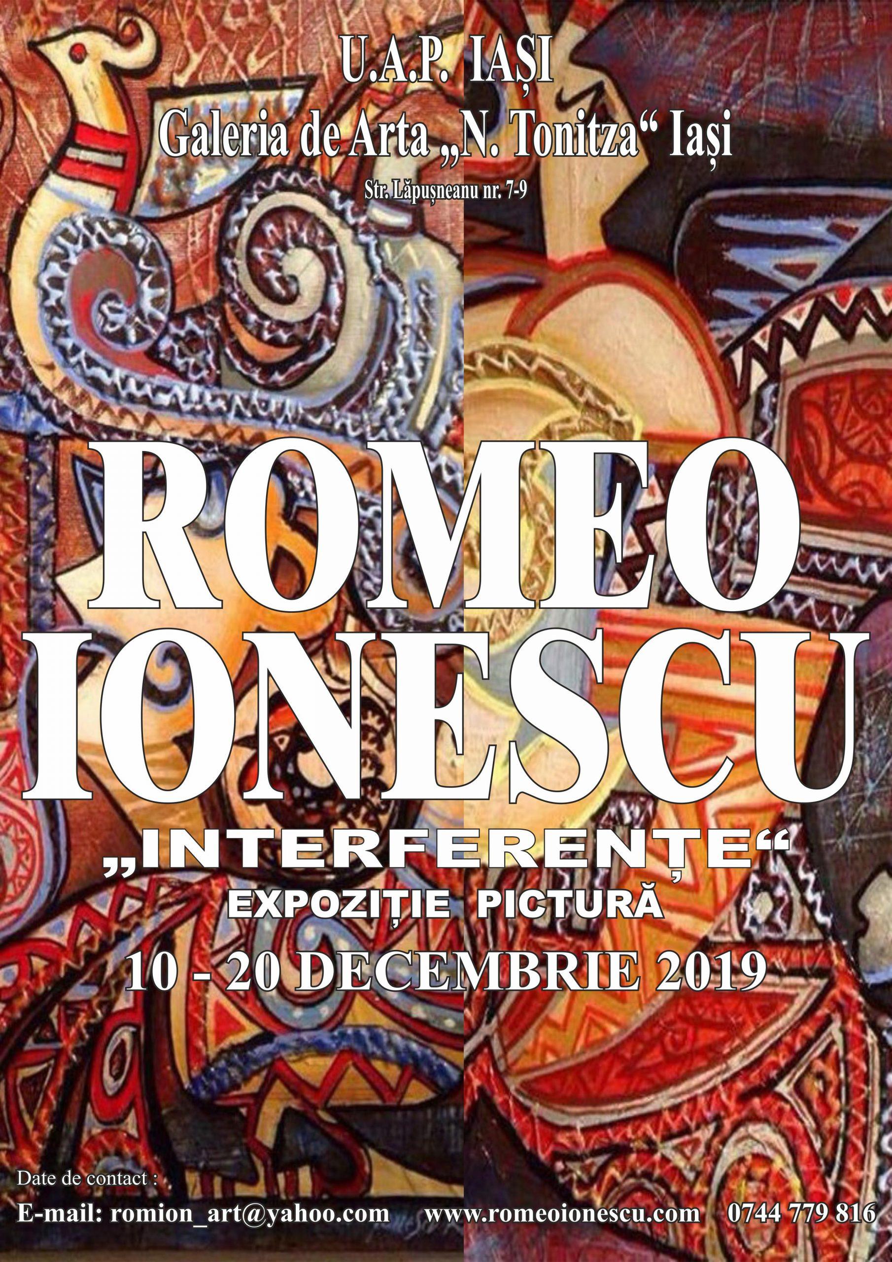 INTERFERENȚE – ROMEO IONESCU