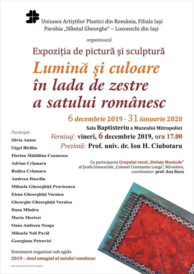 LUMINĂ ȘI CULOARE ÎN LADA DE ZESTRE A SATULUI ROMÂNESC