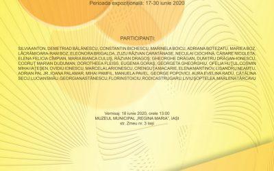 """EXPOZIȚIE NAȚIONALĂ DE ARTE VIZUALE – ,,DIALOGURI INTERCULTURALE ȘI ARTISTICE"""" –  EDIȚIA A XVII – A 2020  17 – 30 IUNIE, 2020"""