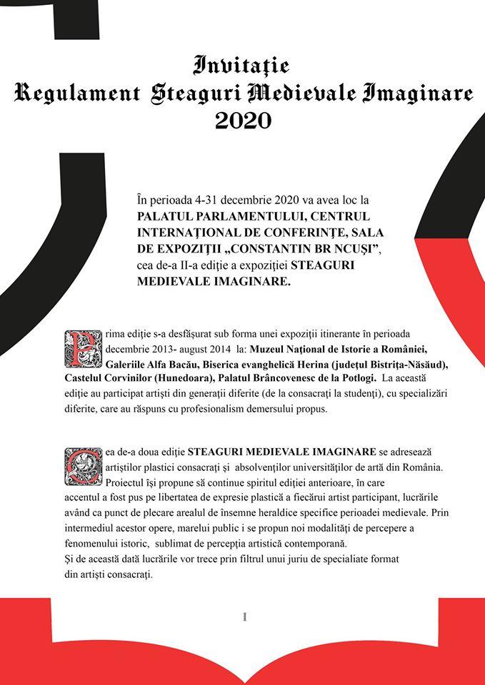 STEAGURI MEDIEVALE IMAGINARE 2020