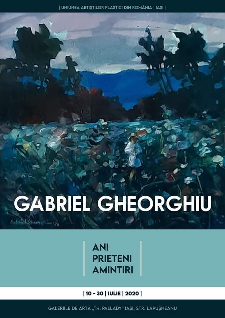 """ANI PRIETENI AMINTIRI"""" – GABRIEL GHEORGHIU ȘI LUCIAN CONSTANTIN SMĂU"""
