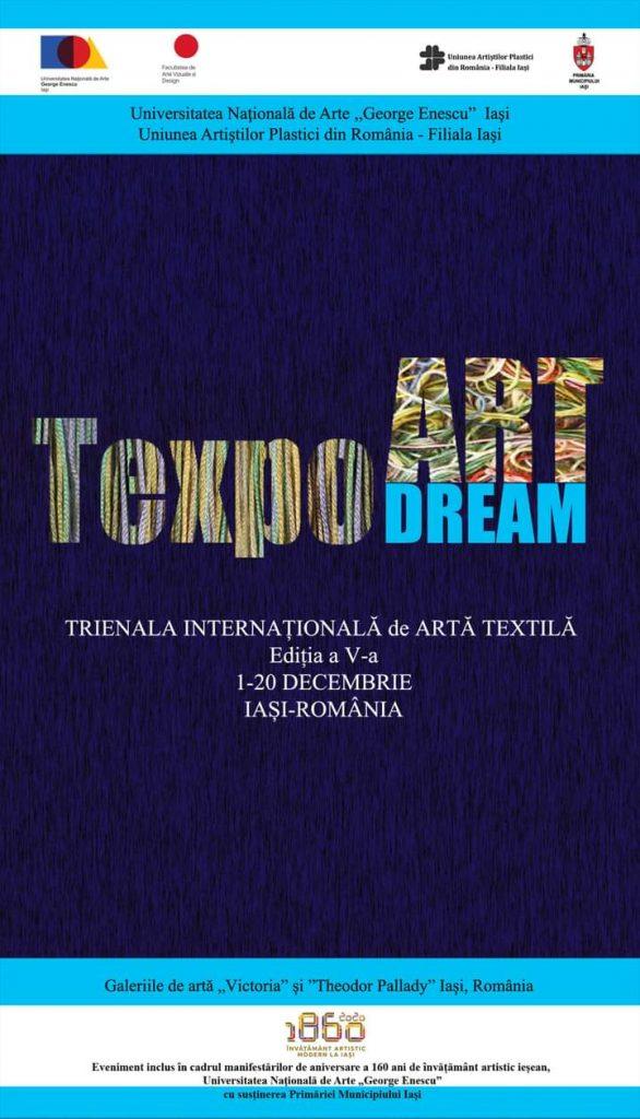 Trienala Internațională de Arte Textilă Ediția a V–a Texpo Art Dream