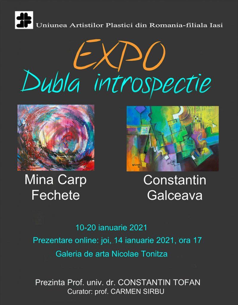 Dubla introspecție – Mina Carp Fechete și Constantin Galceava