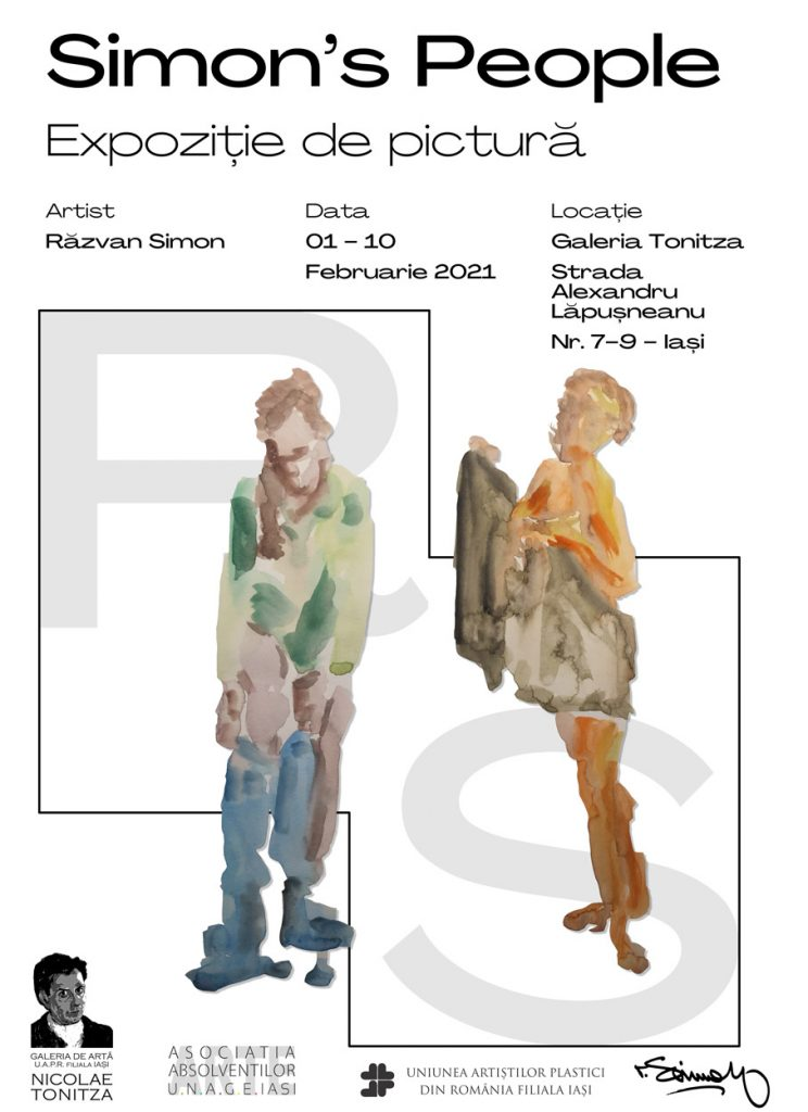 Expoziție de pictură – Simon`s People – Răzvan Simon