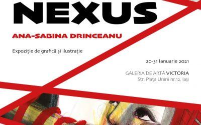"""Expoziția de grafică și ilustrație, """"NEXUS!"""" – Ana-Sabina Drinceanu"""