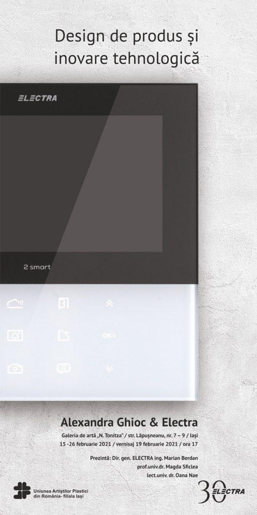 Design de produs și inovare tehnologică – Alexandra Ghioc & Electra c