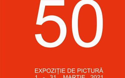 """Expoziție de pictură – """"50"""" – Florin Ungureanu"""