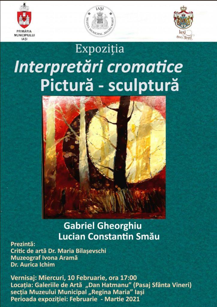 Interpretări cromatice – Gabriel Gheorghiu și Lucian Constantin Smău