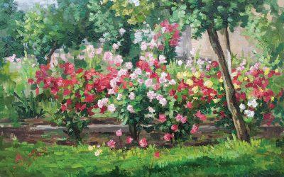 """Expoziție de pictură – """"Timpul și spațiul în simfonia culorilor""""–  Mihai Coțovanu"""