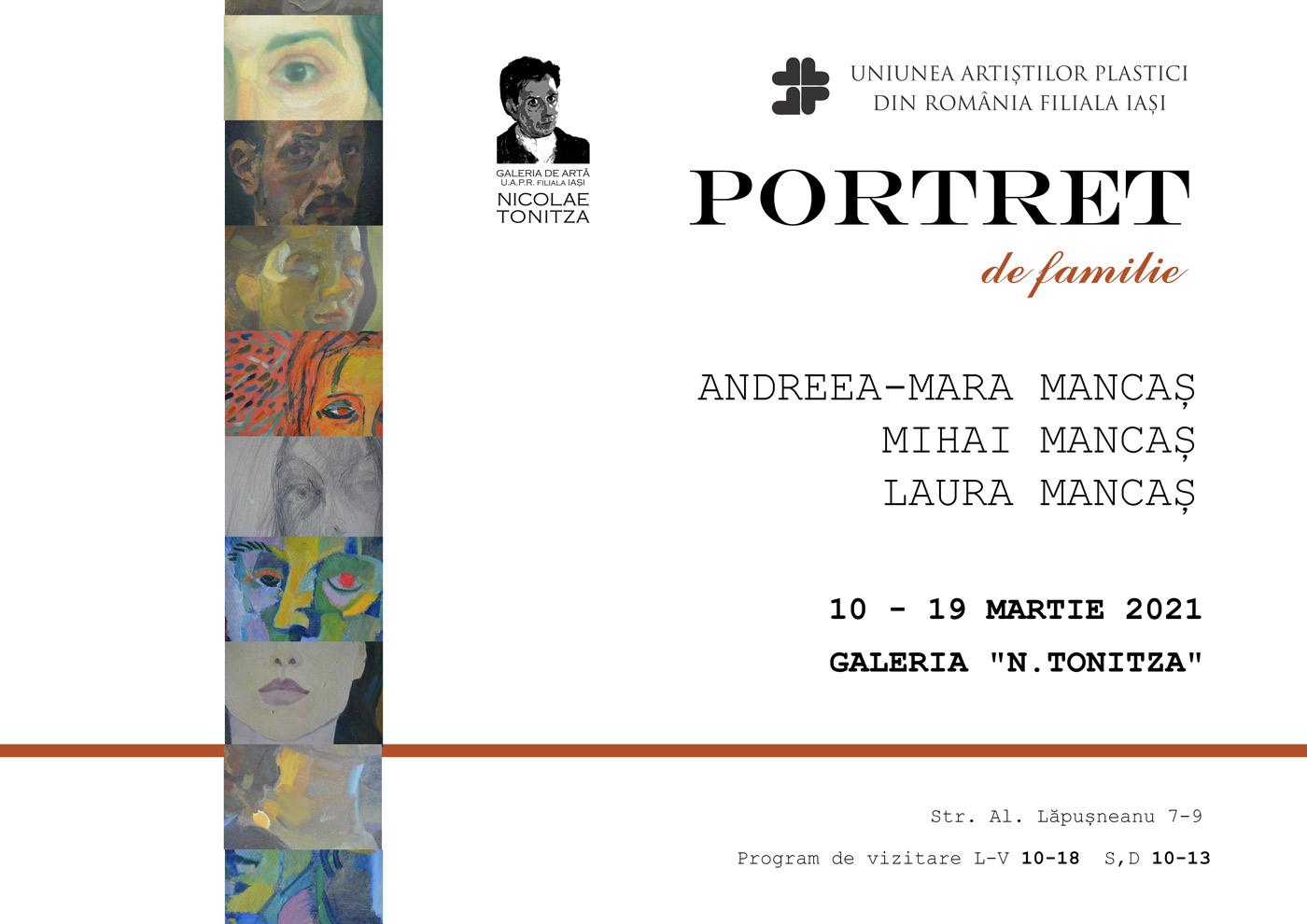 Portret de familie - Andreea – Mara Mancaș, Mihai Mancaș, Laura Mancaș