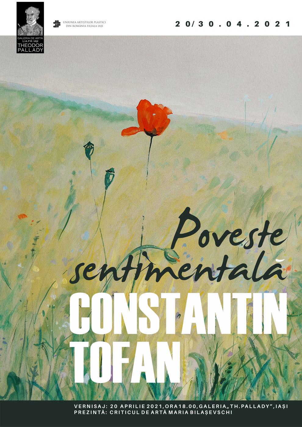 "Expoziție ""Poveste sentimentală"" – Constantin Tofan"