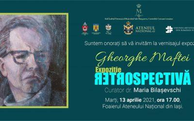 Expoziție retrospectivă – Gheorghe Maftei
