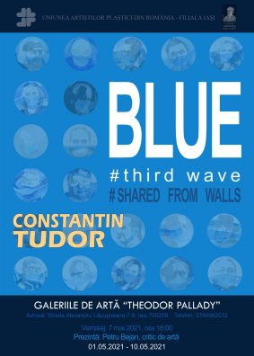 BLUE # third wave # shared from walls – Constantin Tudor