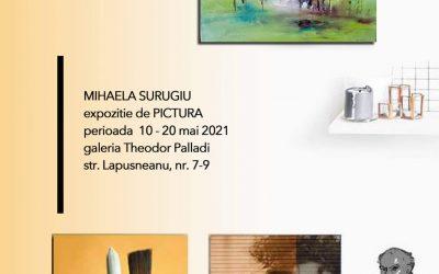 """Expoziție de pictură """"Grădinile Arhitectului"""" – Mihaela Surugiu"""