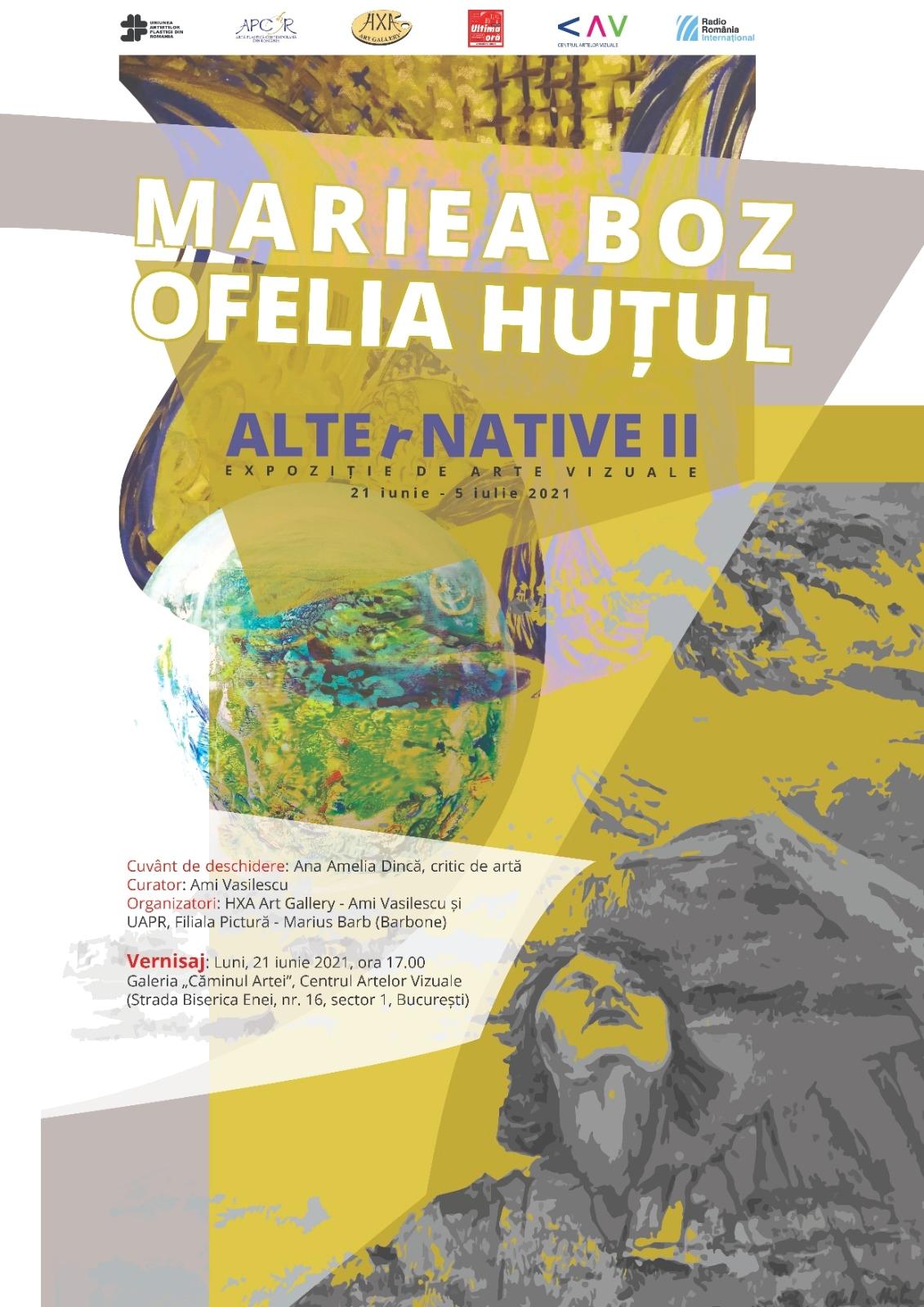 ALTErNATIVE II - Ofelia HUȚUL și Mariea BOZ